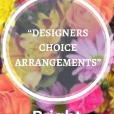 DESIGNERS CHOICE ARRANGEMENTS - BRIGHT TONES