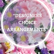 DESIGNERS CHOICE ARRANGEMENTS - PASTEL TONES