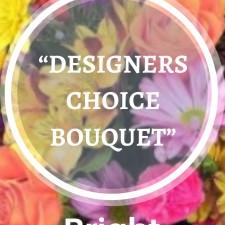 Designer choice bouquet- Bright tones