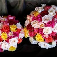 wedding mixed roses 221114